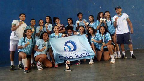 IESJ conquista primeiro lugar na Copa Ceará de Handebol Cadete