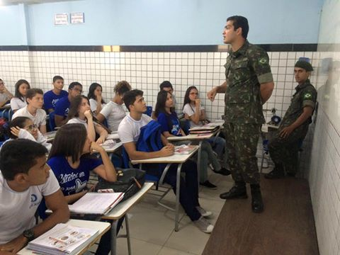 Ex-aluno visita o São José
